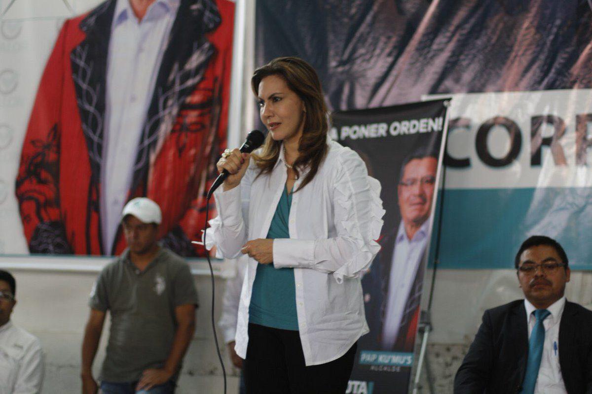 Zury Ríos queda fuera de la contienda electoral