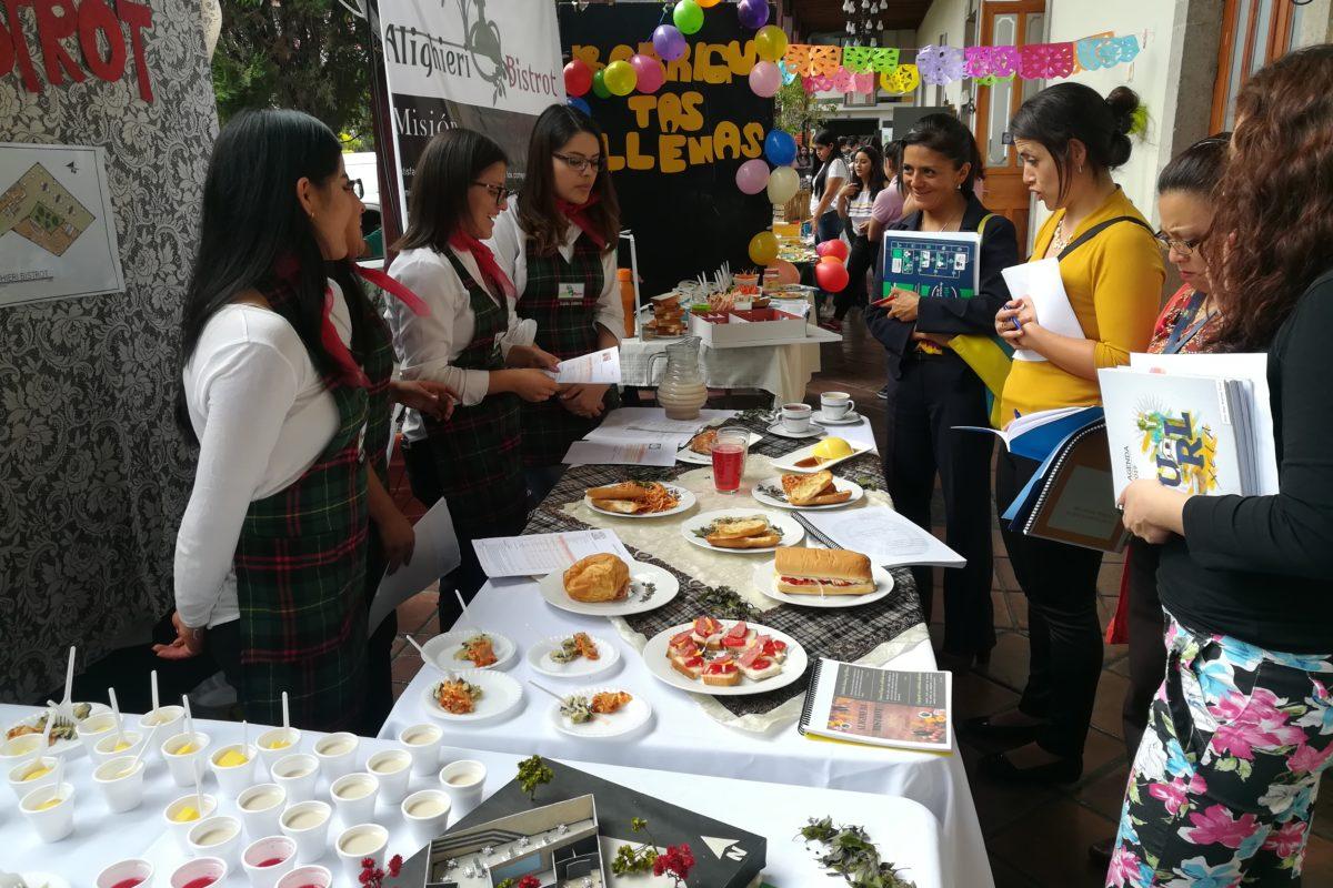 Exponen empresas dedicadas al servicio de alimentos