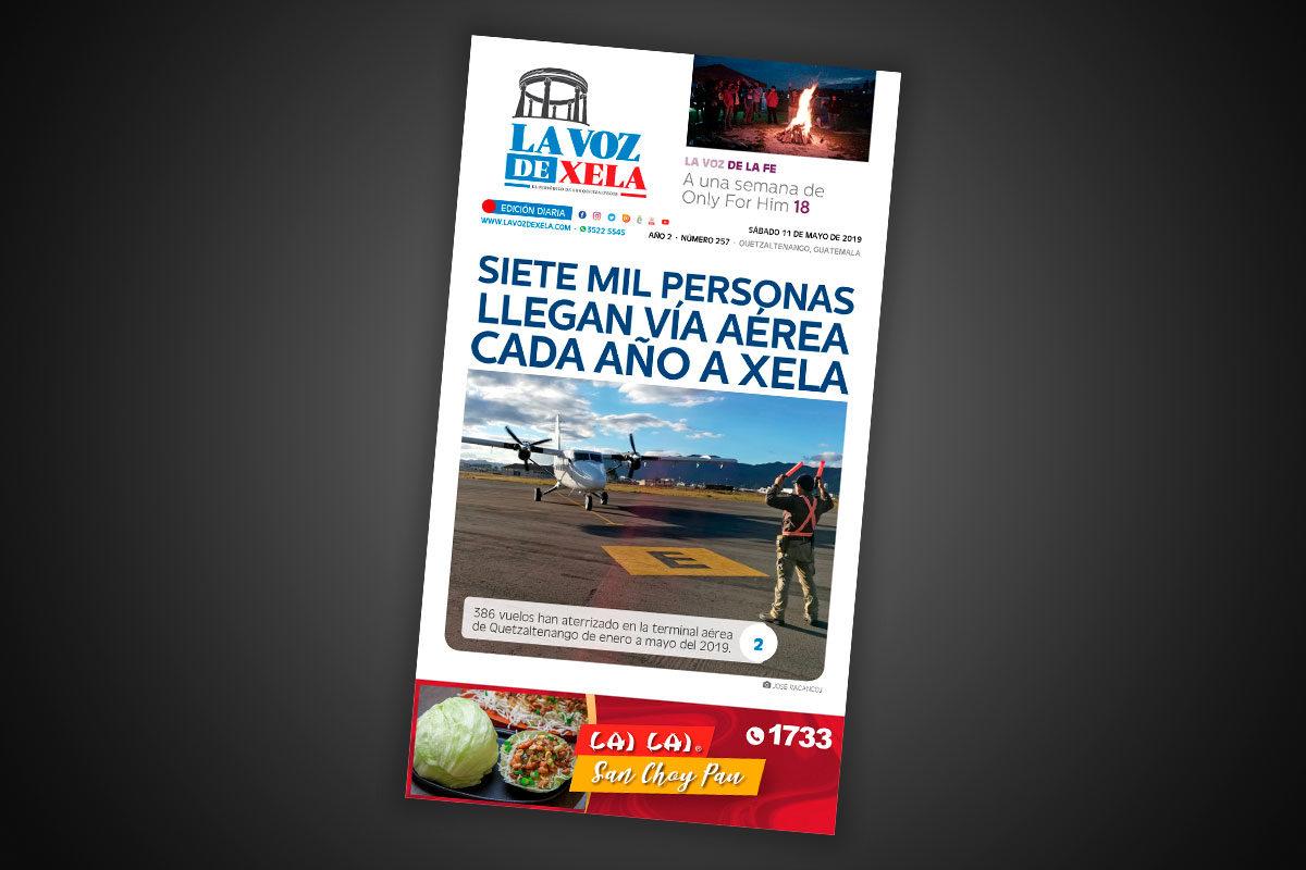 "<span class=""hot"">Tendencia <i class=""fa fa-bolt""></i></span> Lee el periódico digital nocturno del sábado 11 de mayo | #257"