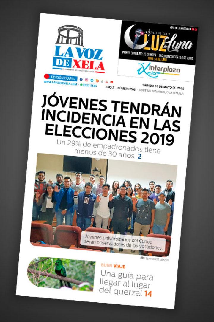 "<span class=""hot"">La voz de impacto <i class=""fa fa-bolt""></i></span> Lee el periódico digital nocturno del sábado 18 de mayo | #263"