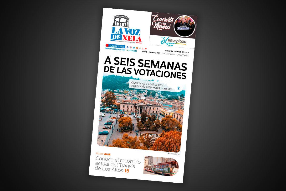"<span class=""hot"">Tendencia <i class=""fa fa-bolt""></i></span> Lee el periódico digital nocturno del sábado 4 de mayo | #251"