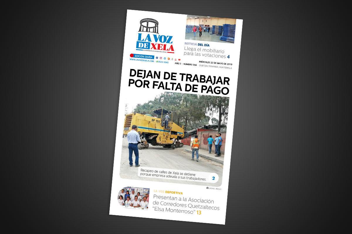 """<span class=""""hot"""">Tendencia <i class=""""fa fa-bolt""""></i></span> Lee el periódico digital nocturno del miércoles 22 de mayo   #266"""