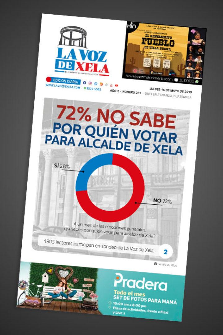"<span class=""hot"">La voz de impacto <i class=""fa fa-bolt""></i></span> Lee el periódico digital nocturno del jueves 16 de mayo | #261"