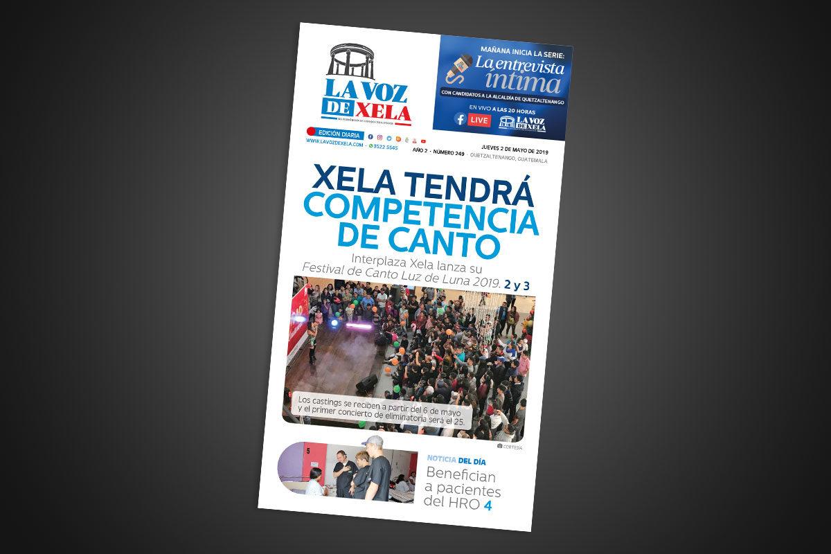 "<span class=""hot"">Tendencia <i class=""fa fa-bolt""></i></span> Lee el periódico digital nocturno del jueves 2 de mayo | #249"