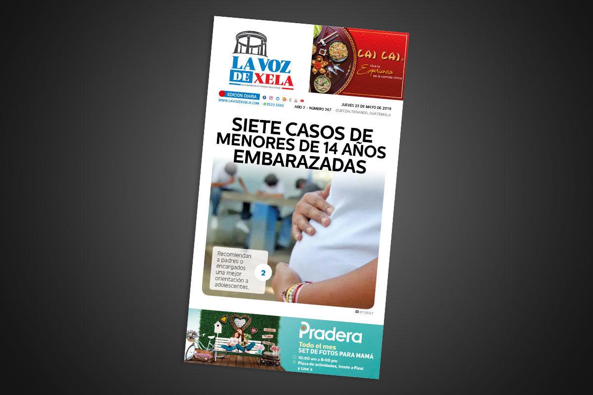 "<span class=""hot"">La voz de impacto <i class=""fa fa-bolt""></i></span> Lee el periódico digital nocturno del jueves 23 de mayo   #267"