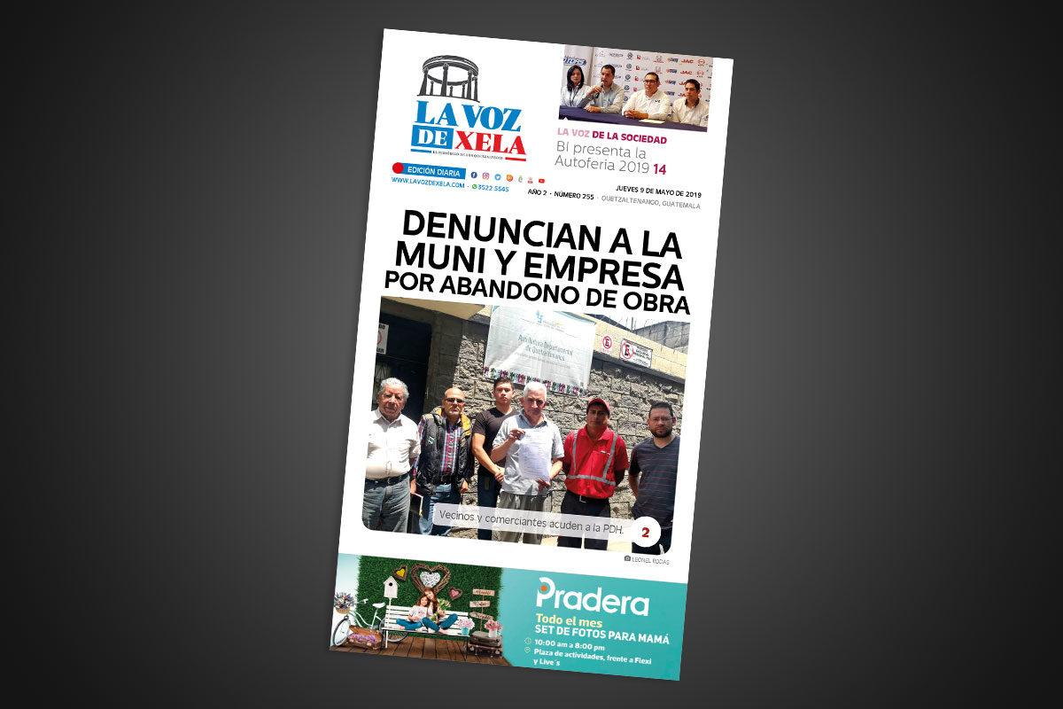 "<span class=""hot"">Tendencia <i class=""fa fa-bolt""></i></span> Lee el periódico digital nocturno del jueves 9 de mayo | #255"
