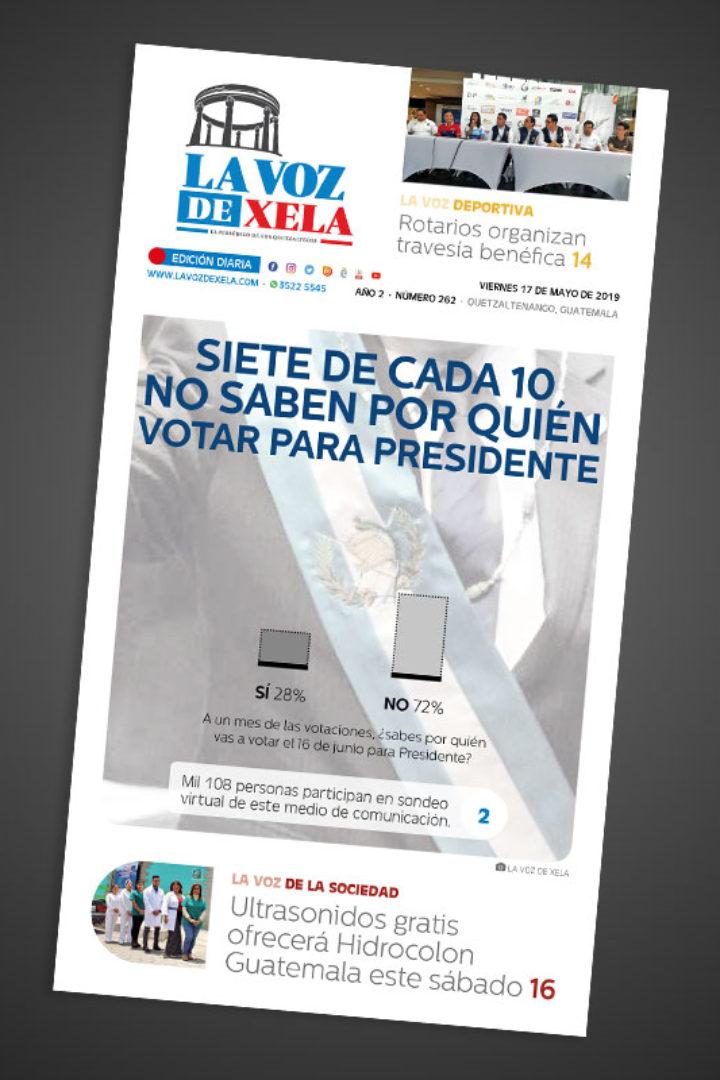 "<span class=""hot"">La voz de impacto <i class=""fa fa-bolt""></i></span> Lee el periódico digital nocturno del viernes 17 de mayo | #262"