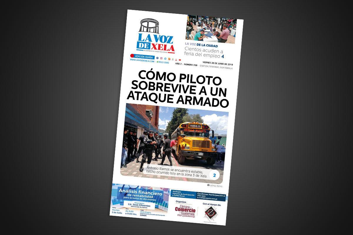 "<span class=""hot"">La voz de impacto <i class=""fa fa-bolt""></i></span> Lee el periódico digital nocturno del viernes 28 de junio | #299"