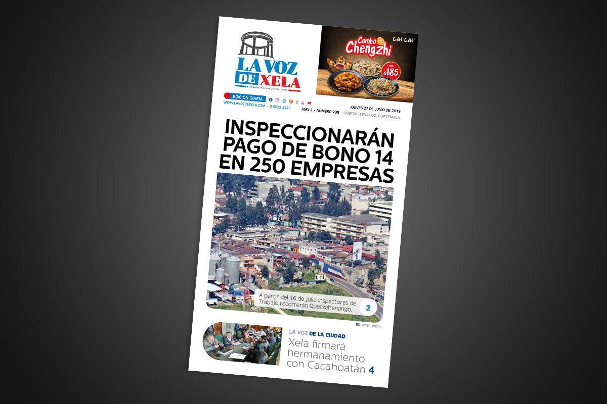 "<span class=""hot"">La voz de impacto <i class=""fa fa-bolt""></i></span> Lee el periódico digital nocturno del jueves 27 de junio | #298"