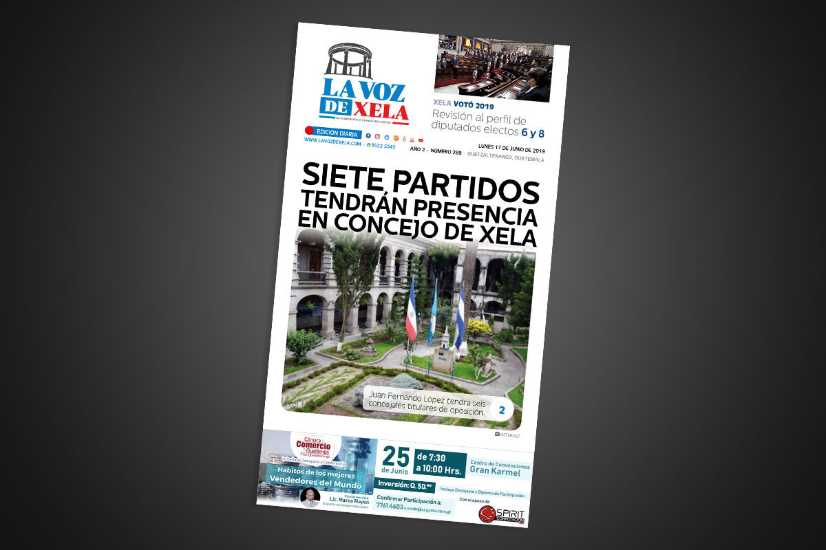 "<span class=""hot"">La voz de impacto <i class=""fa fa-bolt""></i></span> Lee el periódico digital nocturno del lunes 17 de junio | #289"