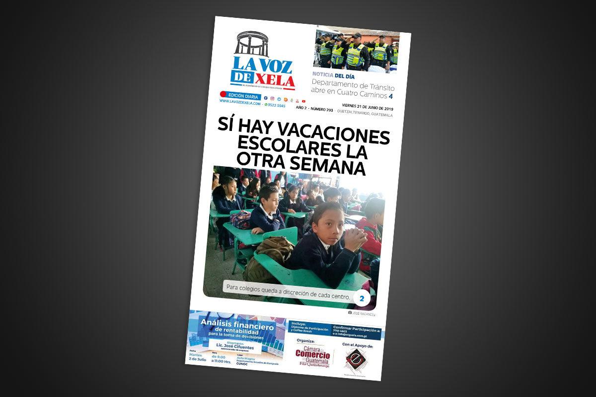 "<span class=""hot"">La voz de impacto <i class=""fa fa-bolt""></i></span> Lee el periódico digital nocturno del viernes 21 de junio | #293"