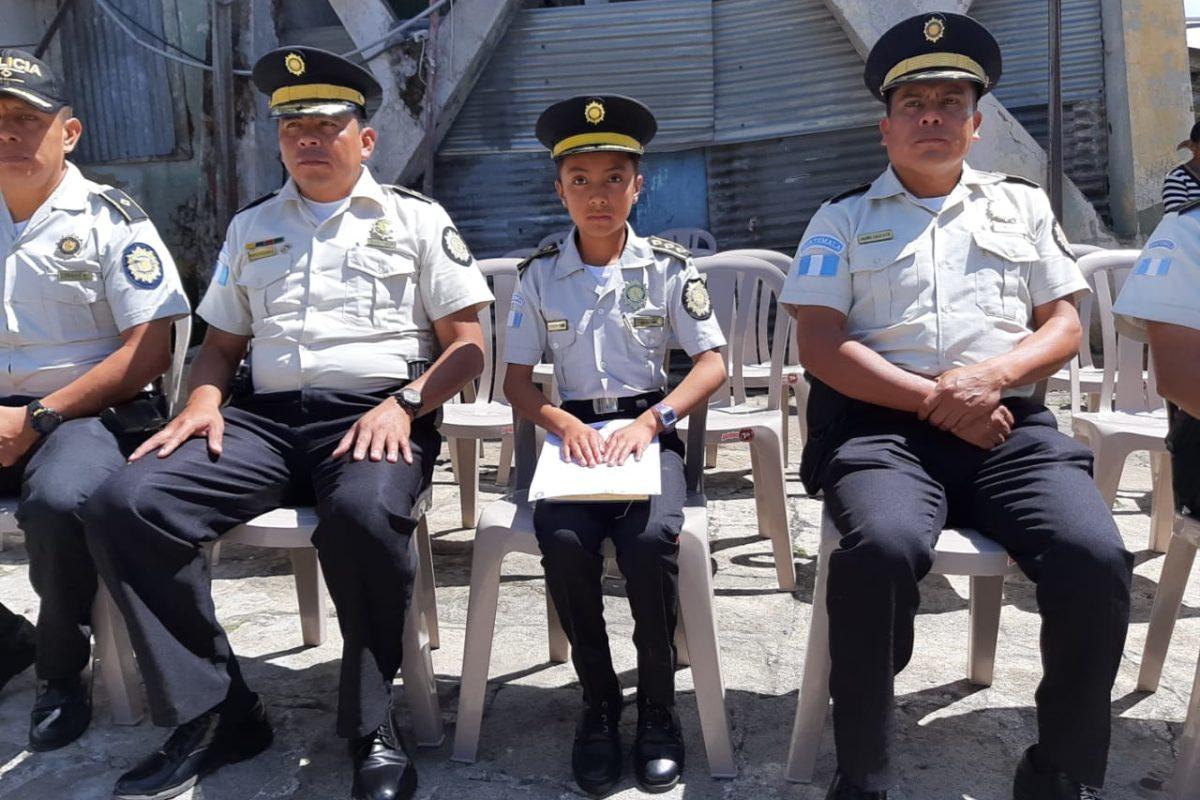 Competirá por el cargo de niña Director General de la PNC