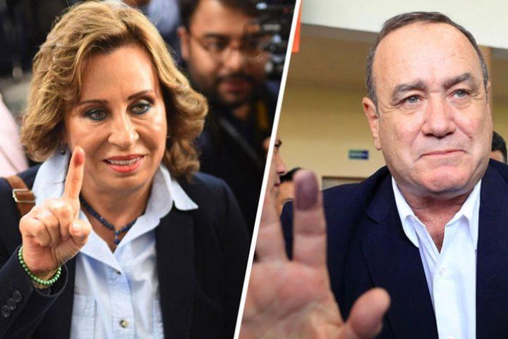 Sandra Torres sacó medio millón de votos más que Alejandro Giammattei