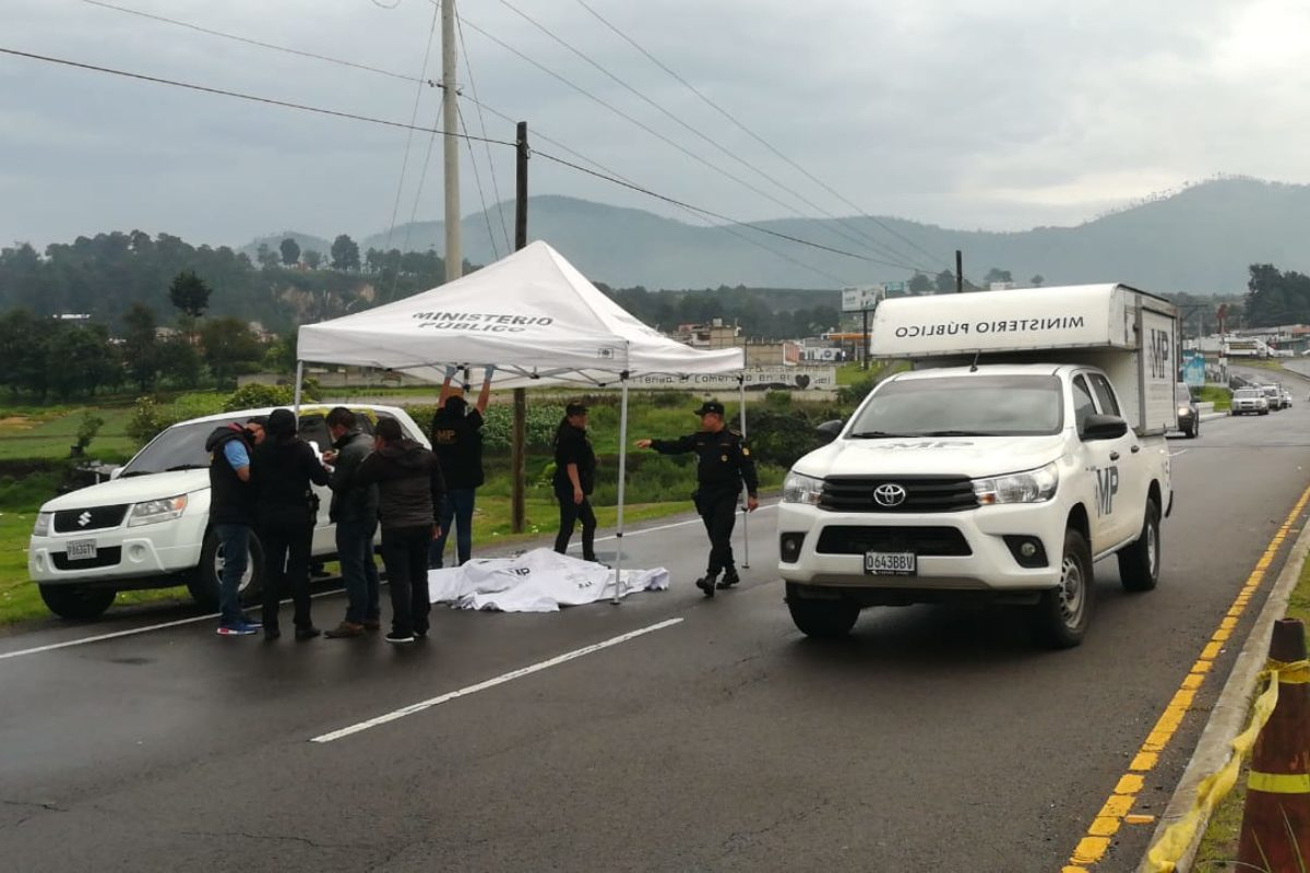 Investigan doble crimen en Salcajá