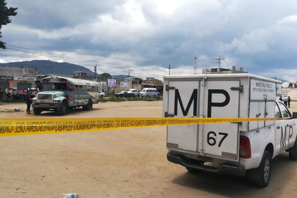 Asesinan a piloto de bus de la ruta El Trigal