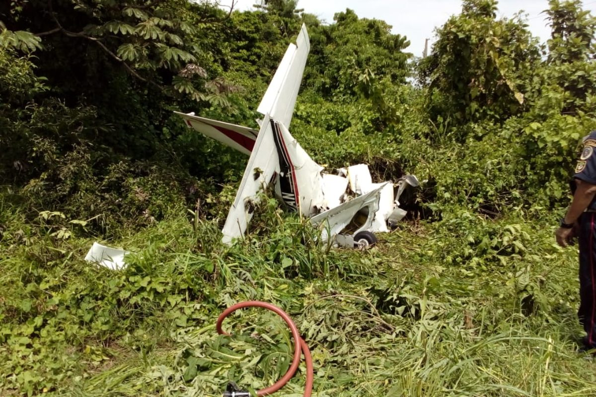 Accidente aéreo cobra vida de piloto