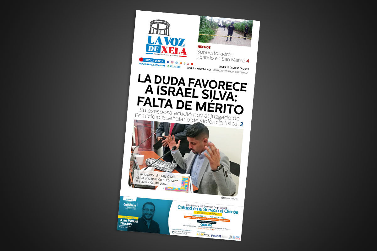 "<span class=""hot"">La voz de impacto <i class=""fa fa-bolt""></i></span> Lee el periódico digital nocturno del lunes 15 de julio | #312"