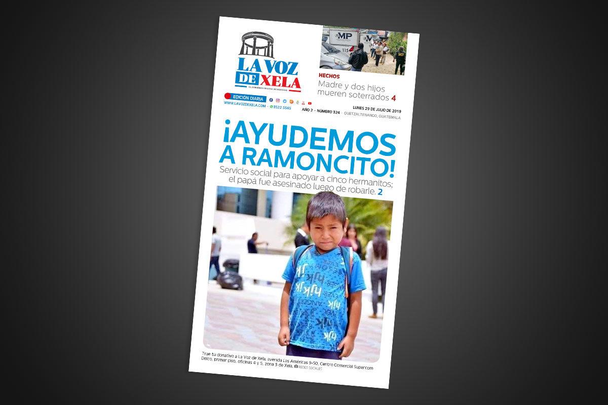 "<span class=""hot"">La voz de impacto <i class=""fa fa-bolt""></i></span> Lee el periódico digital nocturno del lunes 29 de julio   #324"