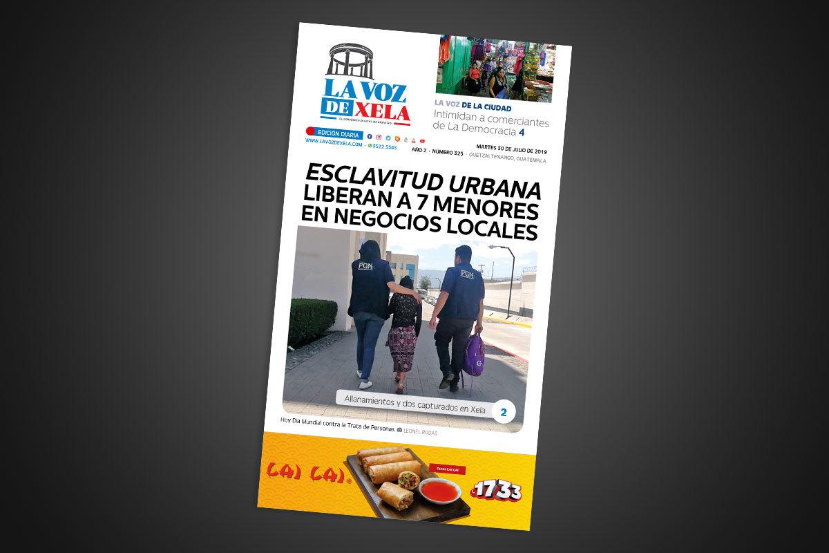 """<span class=""""hot"""">La voz de impacto <i class=""""fa fa-bolt""""></i></span> Lee el periódico digital nocturno del martes 30 de julio   #325"""
