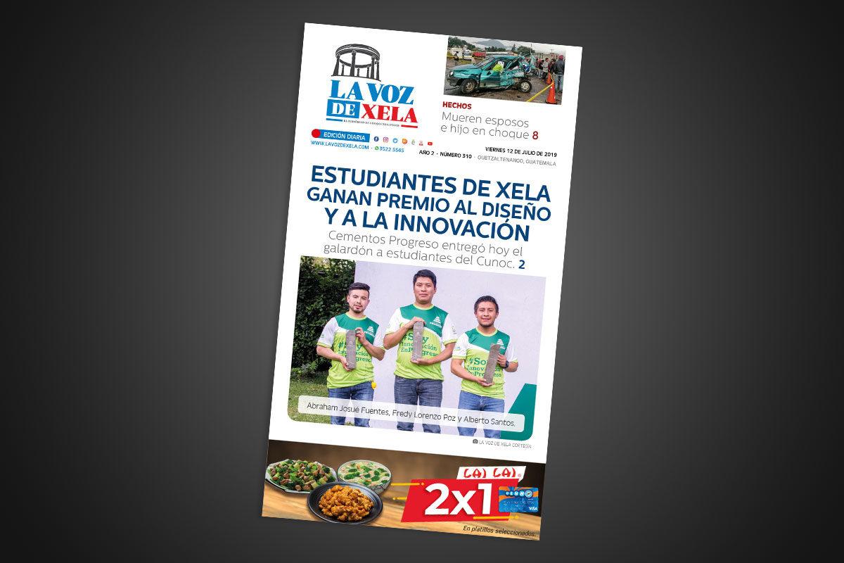 "<span class=""hot"">La voz de impacto <i class=""fa fa-bolt""></i></span> Lee el periódico digital nocturno del viernes 12 de julio | #310"