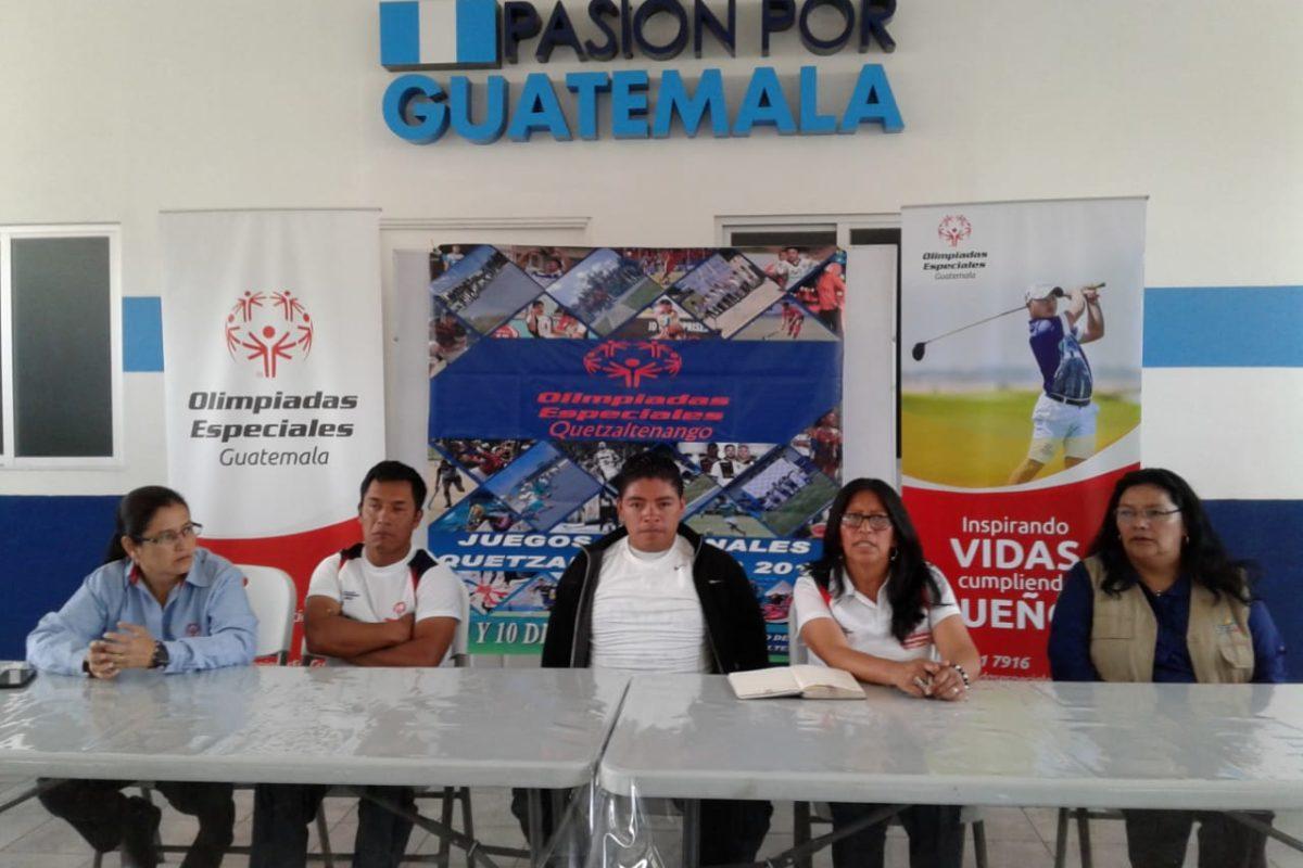 Xela albergará Juegos Nacionales de Atletismo de Olimpiadas Especiales