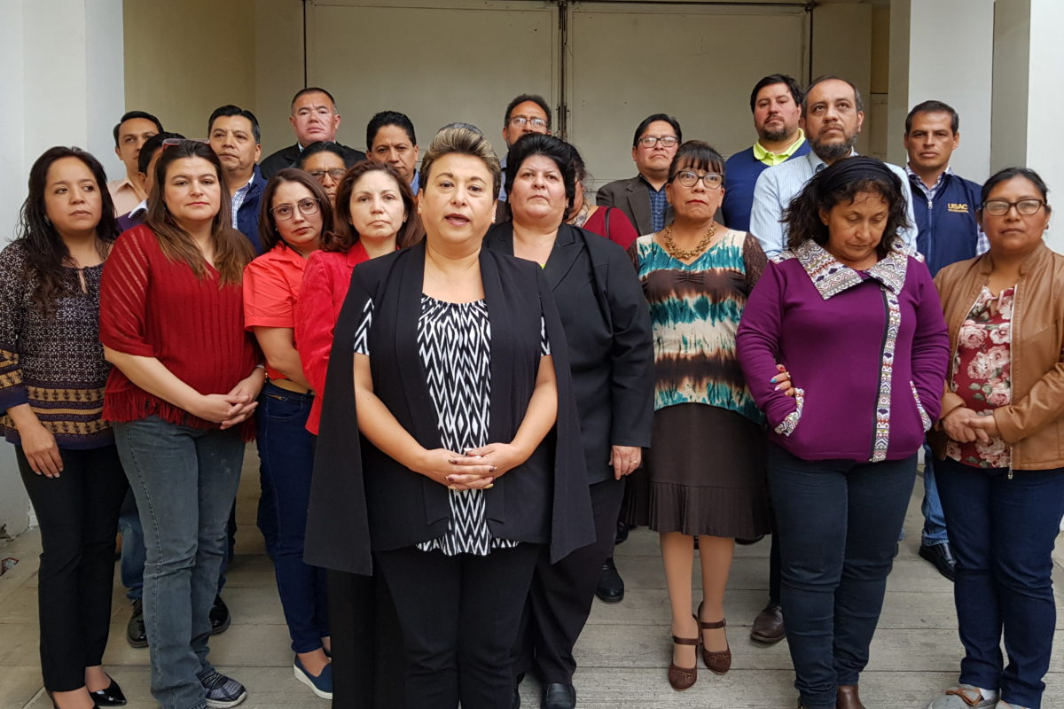 """Mensaje de las autoridades del Cunoc: """"el lunes retomamos actividades"""""""