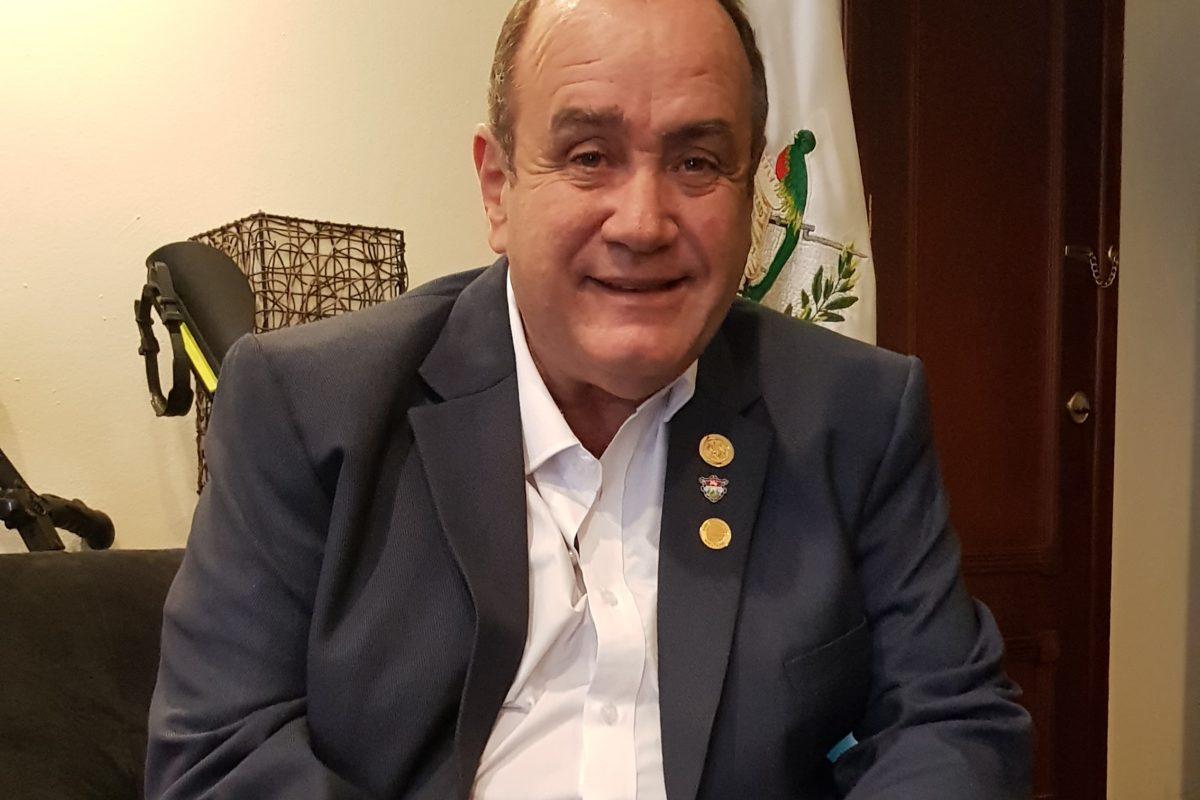 "Giammattei: ""No le guardo rencor al alcalde electo de Xela"""