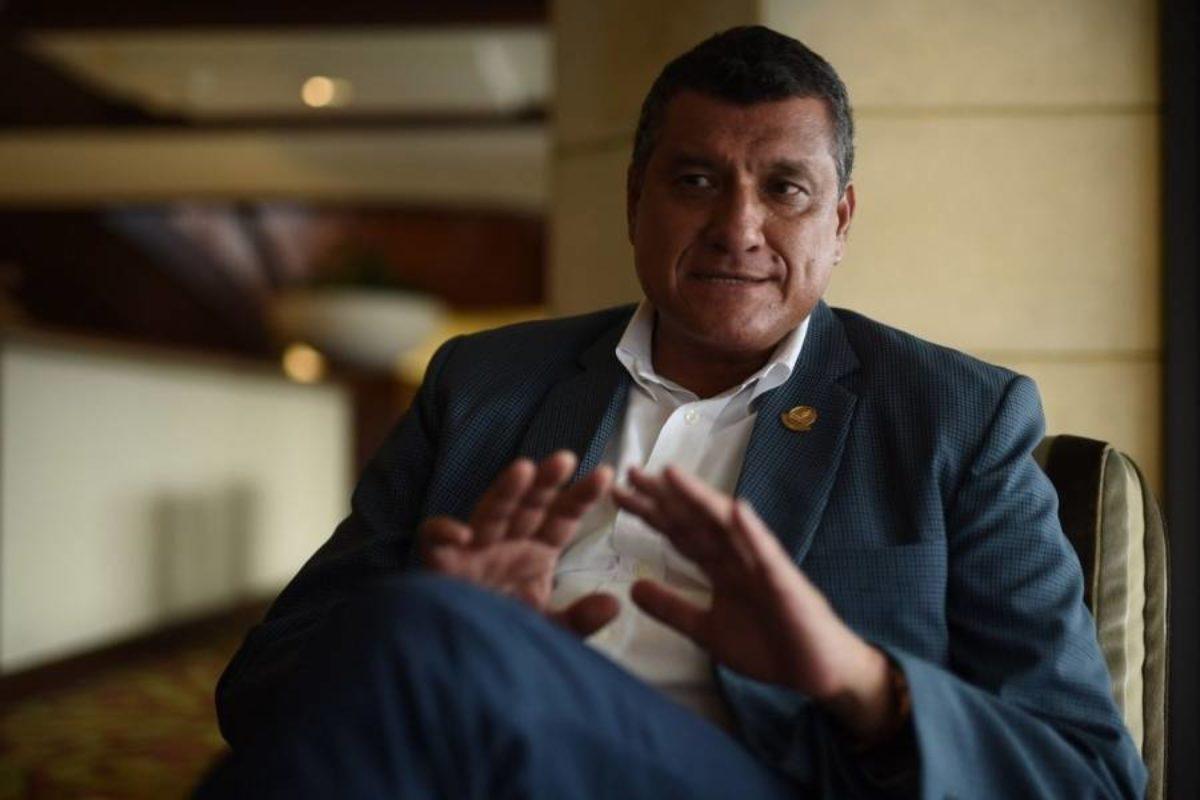 Un huehueteco se convierte en vicepresidente de Guatemala