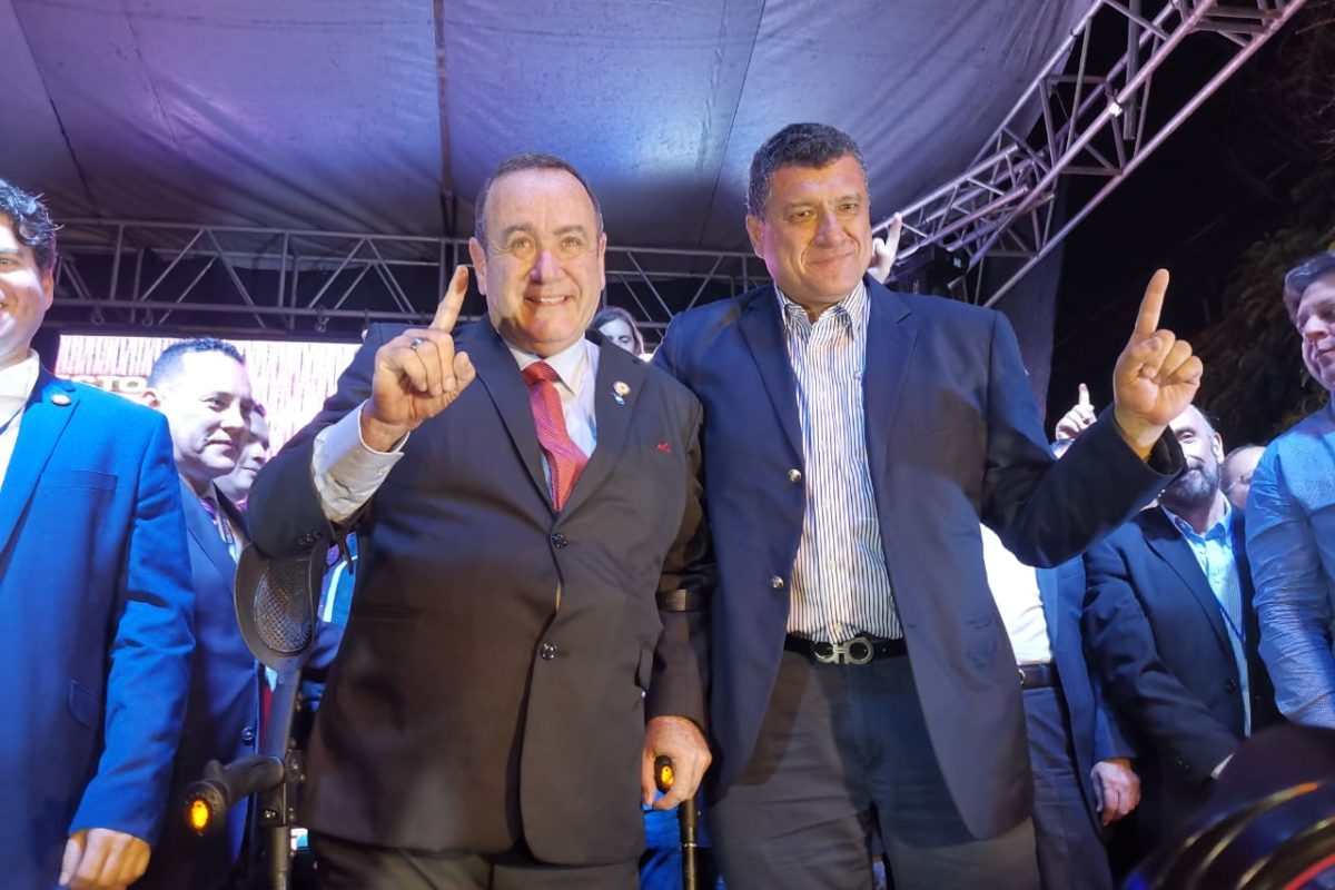 Giammattei, nuevo presidente de Guatemala