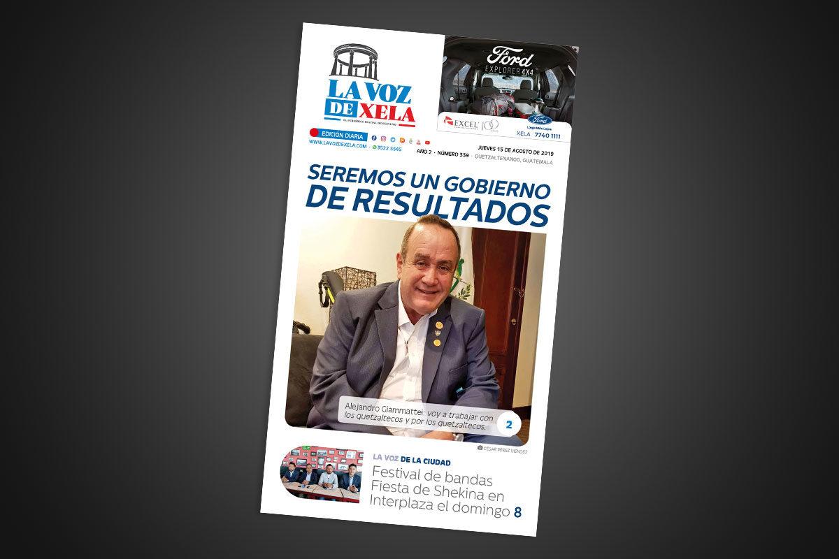 "<span class=""hot"">La voz de impacto <i class=""fa fa-bolt""></i></span> Lee el periódico digital nocturno del jueves 15 de agosto | #339"