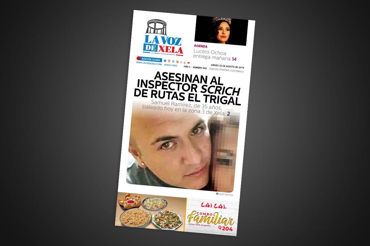 "<span class=""hot"">Tendencia <i class=""fa fa-bolt""></i></span> Lee el periódico digital nocturno del jueves 22 de agosto | #345"