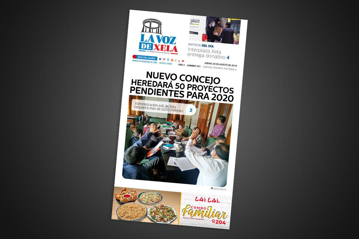 "<span class=""hot"">La voz de impacto <i class=""fa fa-bolt""></i></span> Lee el periódico digital nocturno del jueves 29 de agosto | #351"