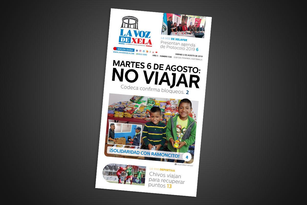 "<span class=""hot"">La voz de impacto <i class=""fa fa-bolt""></i></span> Lee el periódico digital nocturno del viernes 2 de agosto   #328"