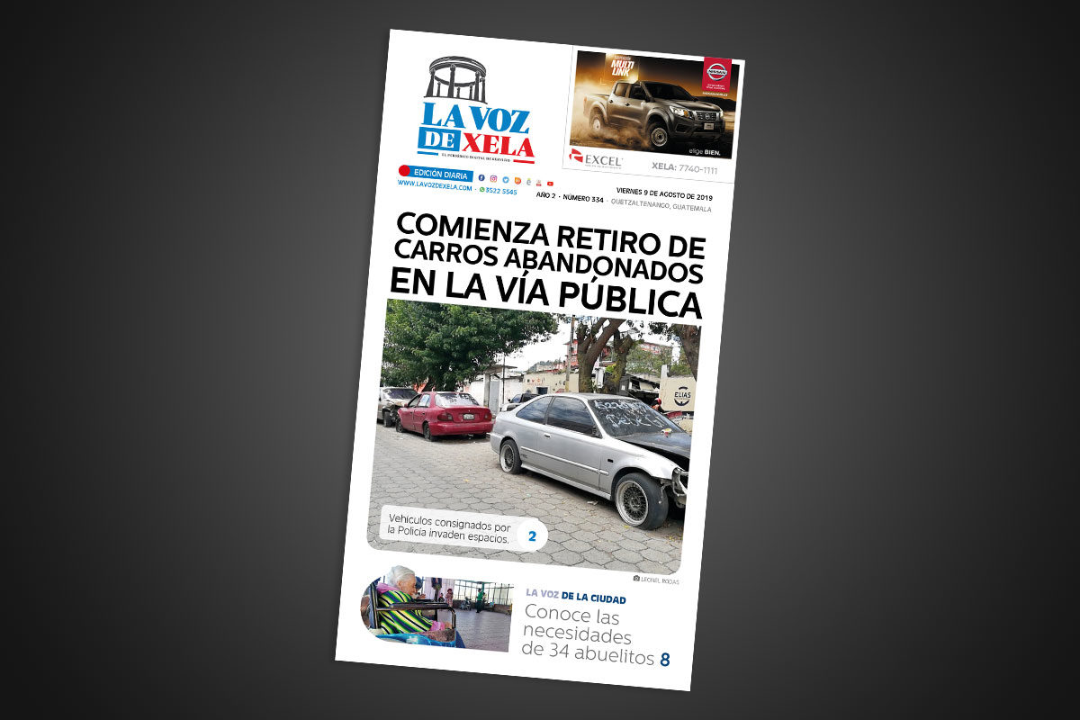"<span class=""hot"">La voz de impacto <i class=""fa fa-bolt""></i></span> Lee el periódico digital nocturno del viernes 9 de agosto | #334"