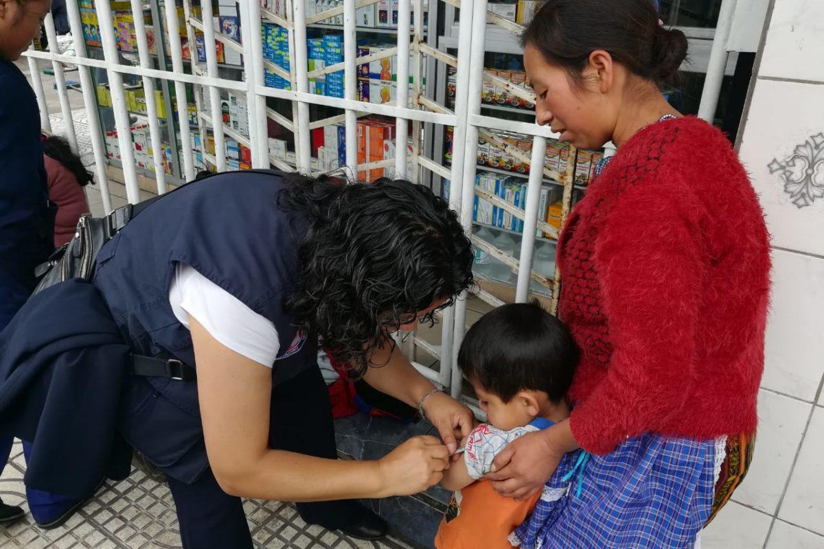 Vacunación contra el sarampión avanza un 51 por ciento