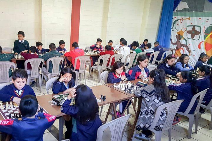 Celebran I Olimpiada Escolar de Ajedrez en Ostuncalco