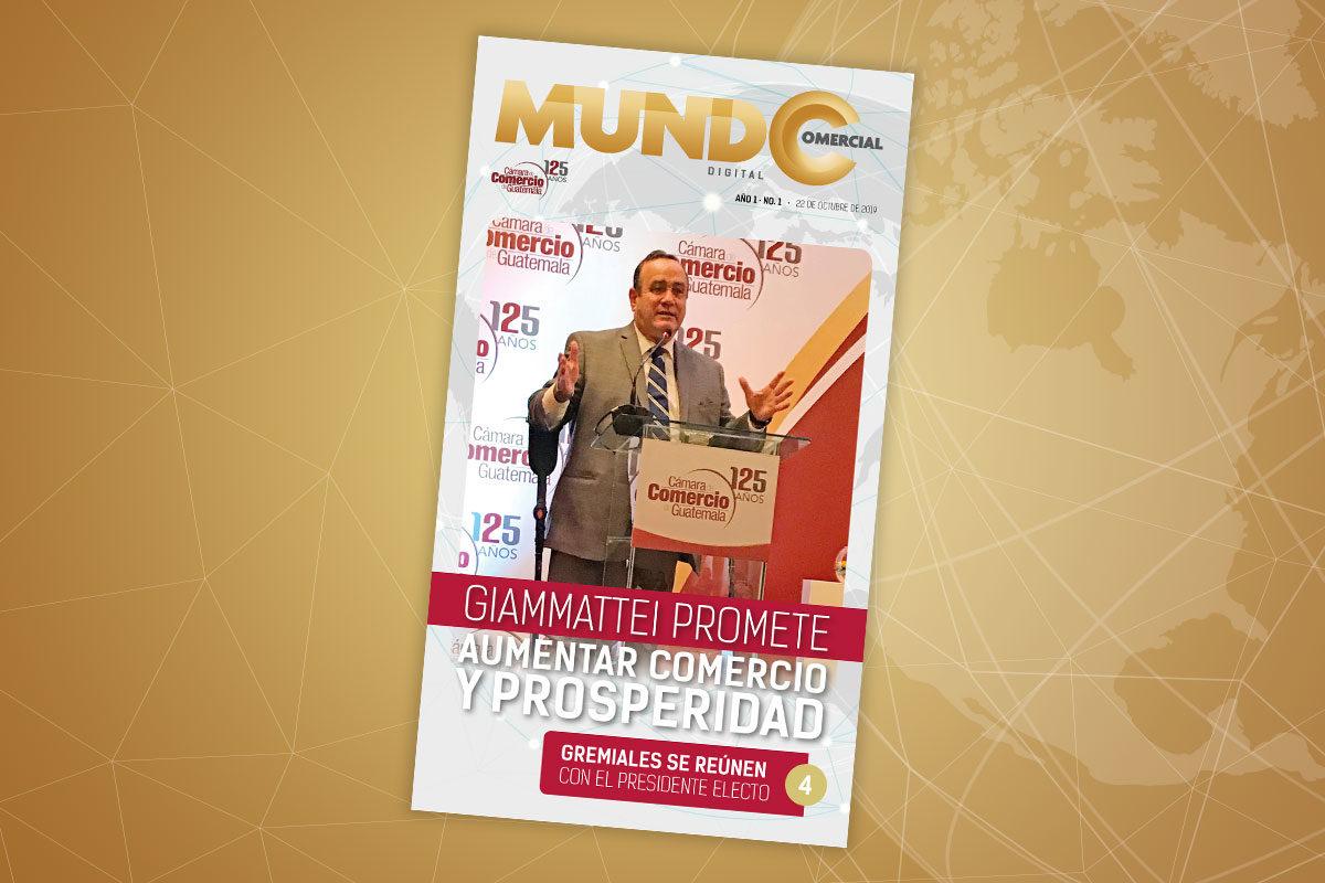 Edición No. 1 de la revista Mundo Comercial digital