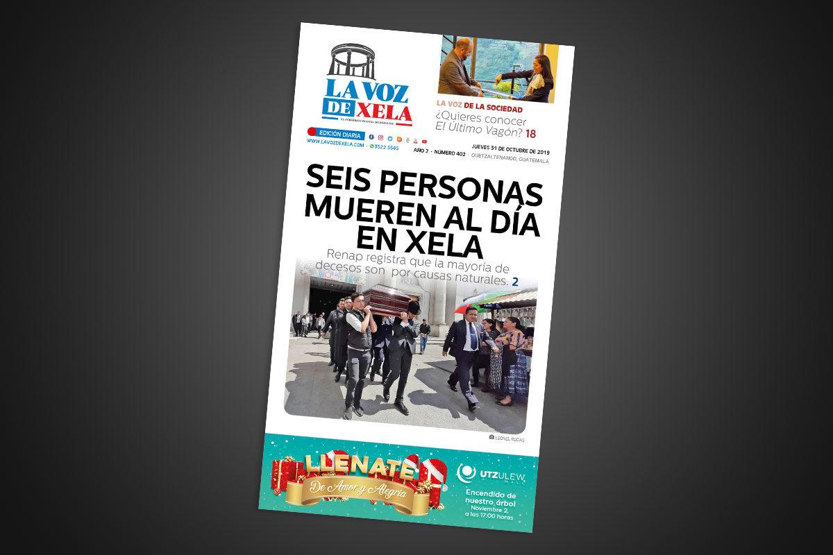 Lee el periódico digital nocturno del jueves 31 de octubre | #402