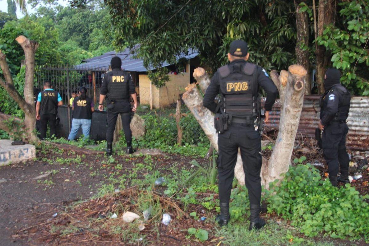 27 capturados en 90 allanamientos en el país