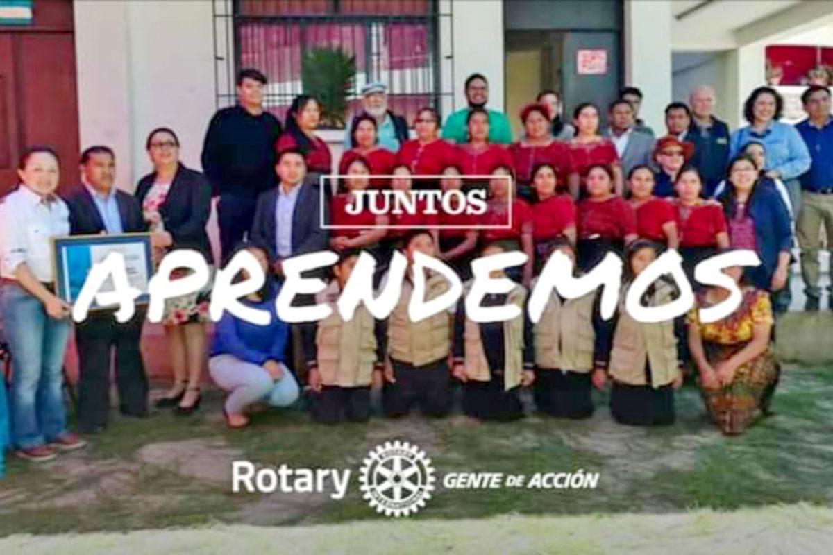 Invitan a ser Padrino de Beca Rotaria