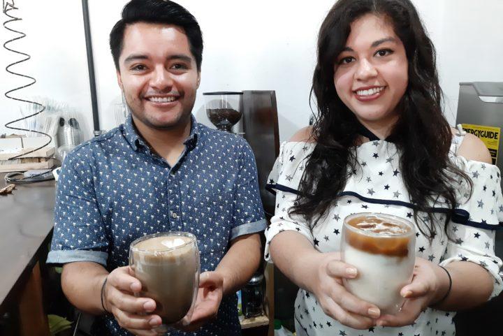 Caffeine: la empresa creada por una pareja quetzalteca