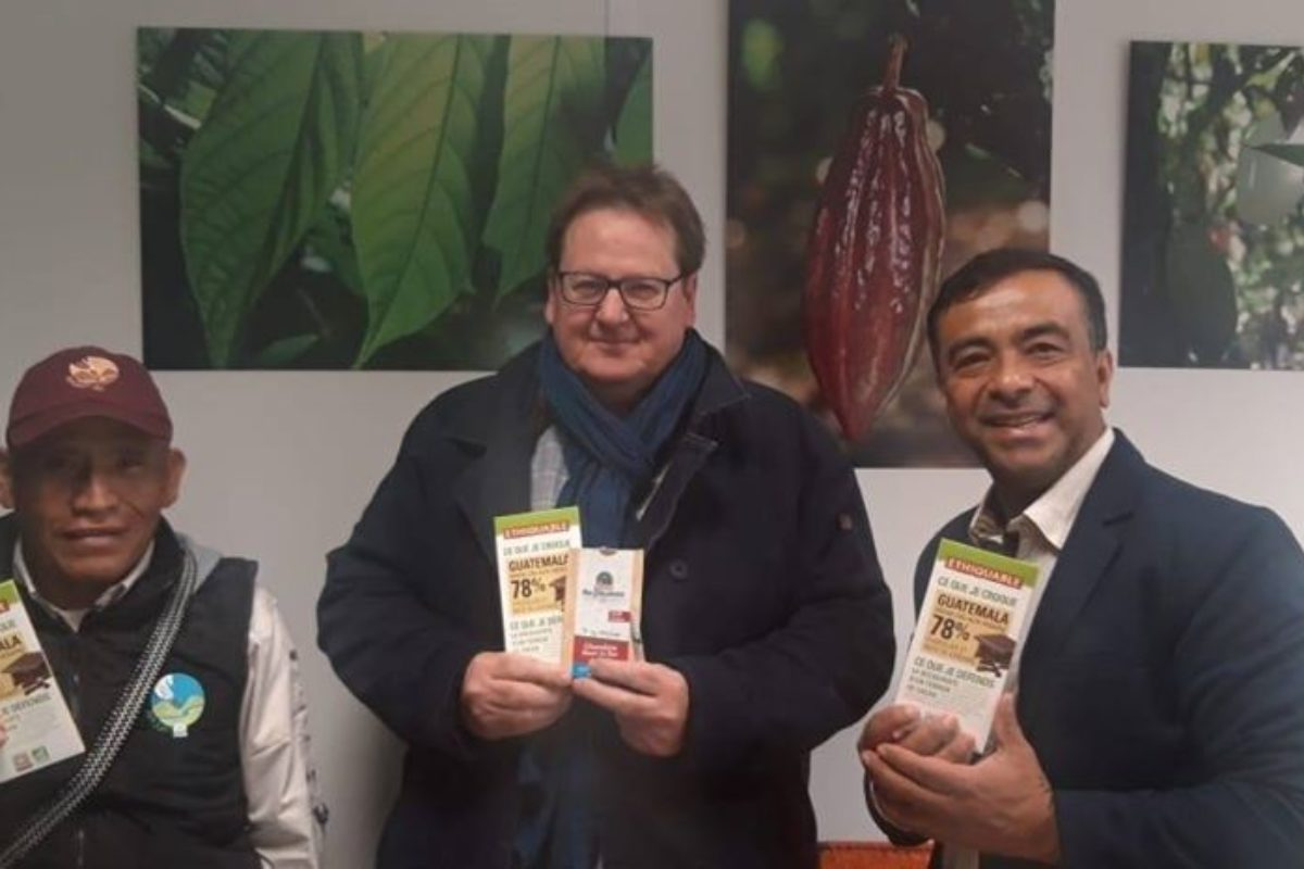 Chocolate guatemalteco es presentado en el Salón del Chocolate de París