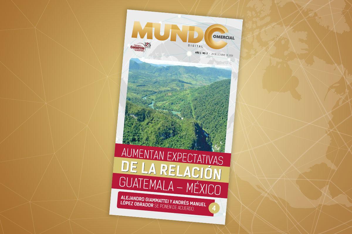 Edición No. 2 de la revista Mundo Comercial digital