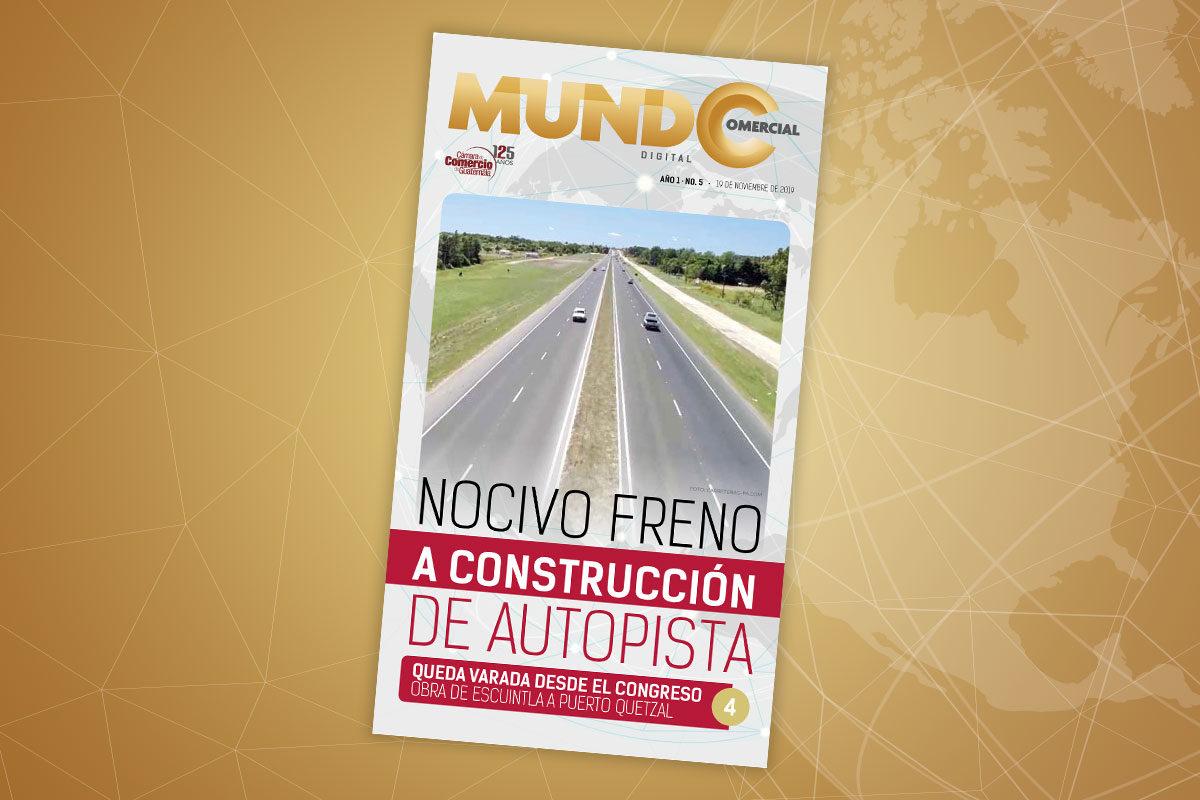 Edición No. 5 de la revista Mundo Comercial digital