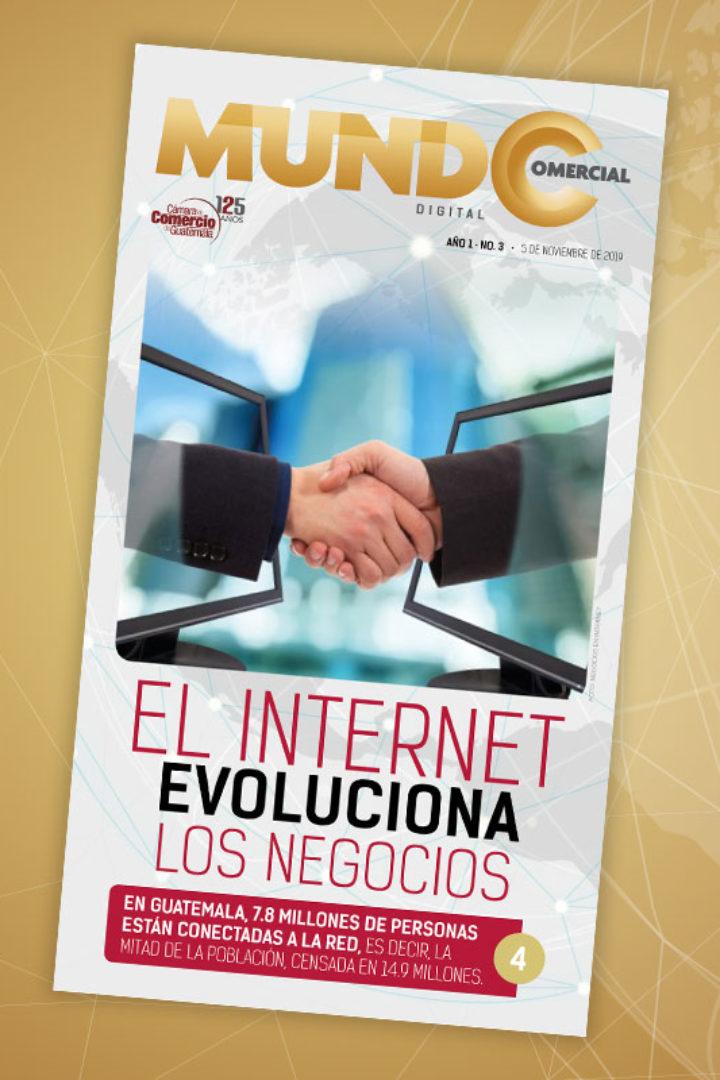 Edición No. 3 de la revista Mundo Comercial digital