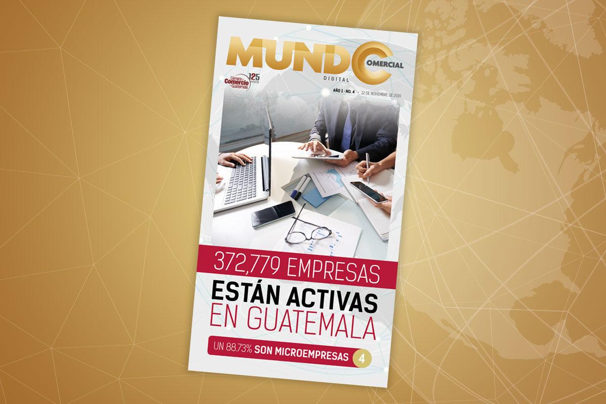 Edición No. 4 de la revista Mundo Comercial digital
