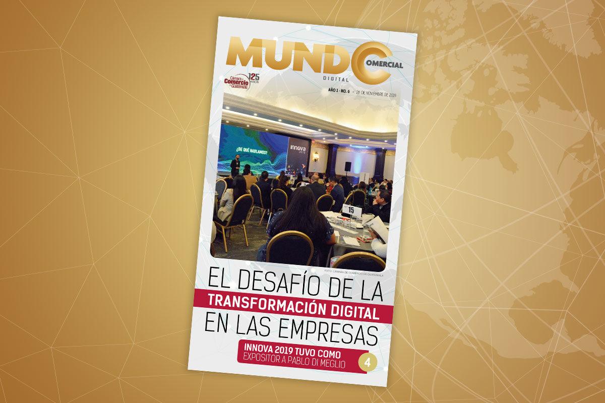 Edición No. 6 de la revista Mundo Comercial digital