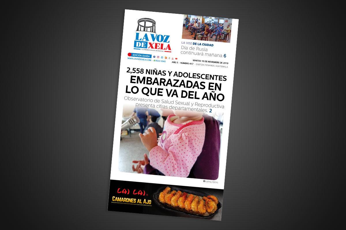 Lee el periódico digital nocturno del martes 19 de noviembre | #417