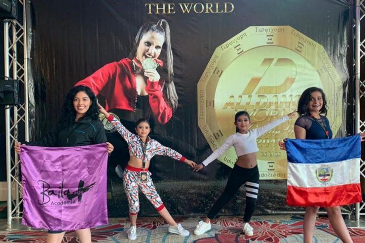 Ganan bronce en evento mundial de baile