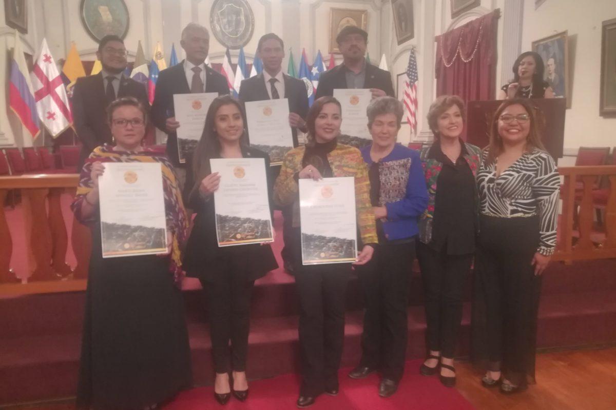 Entregan Galardón Cultural a quetzaltecos